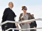 Президент Ильхам Алиев и его супруга Мехрибан Алиева приняли участие в открытии Беюкшорского бульвара и парка - ОБНОВЛЕНО - ФОТО: Политика