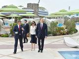Президент Ильхам Алиев и его супруга Мехрибан Алиева приняли участие в открытии Центра семейного отдыха - ФОТО - ВИДЕО: Политика