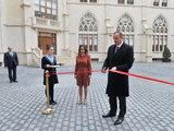 Президент Ильхам Алиев принял участие в открытии нового здания Бакинской оксфордской школы - ФОТО: Политика