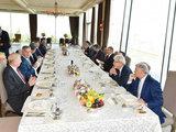 От имени Президента Ильхама Алиева дан обед в честь глав государств, правительств и делегаций, находящихся в Азербайджане - ОБНОВЛЕНО - ФОТО: Политика