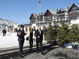 """Президент Ильхам Алиев и его супруга Мехрибан Алиева посетили туркомплекс """"Шахдаг"""" - ОБНОВЛЕНО - ФОТО: Политика"""