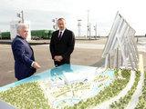Президент Ильхам Алиев принял участие в открытии паромного терминала нового Бакинского международного порта - ОБНОВЛЕНО - ФОТО: Политика