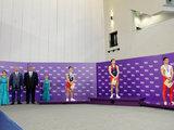 Азербайджанские гимнасты стали обладателями золотых медалей в синхронных прыжках на батуте - ОБНОВЛЕНО - ФОТО: Спорт