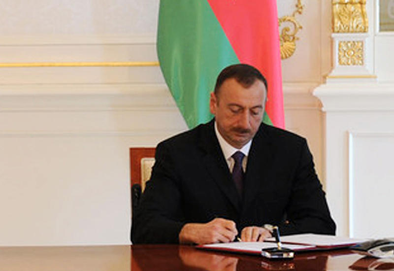 Президент Ильхам Алиев поздравил короля Марокко