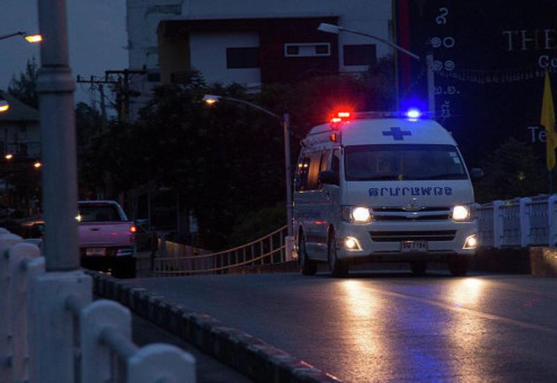 Жуткая авария в Таиланде, 15 пострадавших