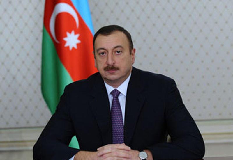 Президент Ильхам Алиев поздравил глав Хорватии и Словении