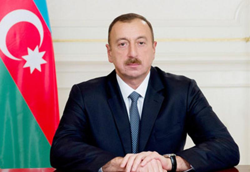 Президент Ильхам Алиев поздравил главу Швейцарии