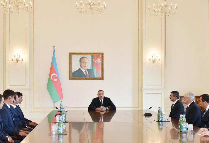 """Президент Ильхам Алиев: """"Азербайджан уже смог преподнести себя в мире как спортивная страна"""" <span class=""""color_red"""">- ОБНОВЛЕНО - ФОТО - ВИДЕО</span>"""