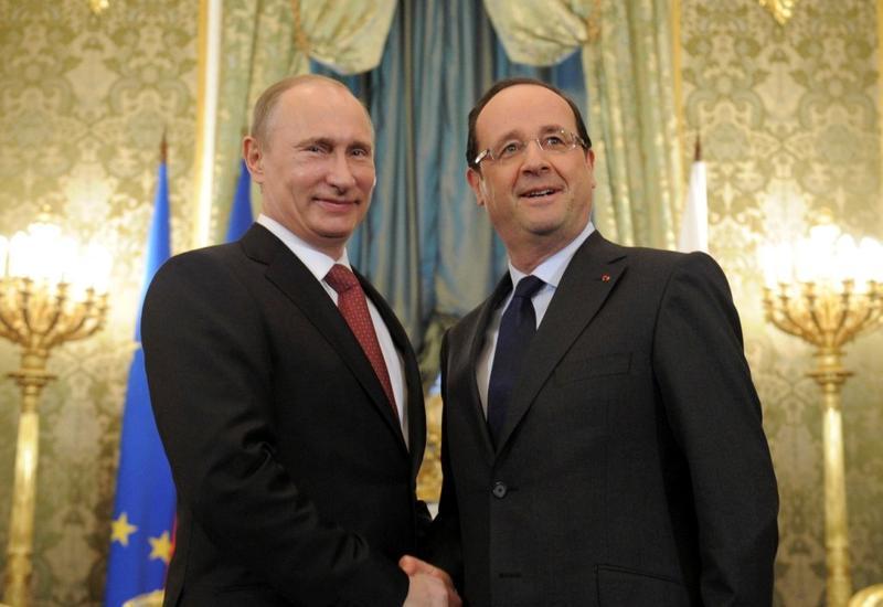 Путин встретится с Олландом в Кремле