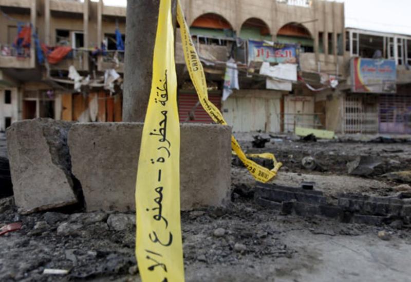 Двойной теракт в Багдаде, погибли 13 человек