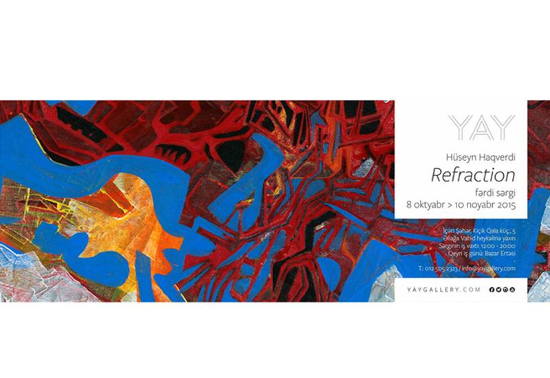 """Выставка """"Преломление"""" Гусейна Хагверди в YAY Gallery"""