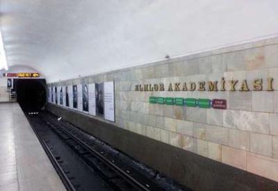 """""""Elmlər Akademiyası"""" metrosuna su hardan sızır? <span class=""""color_red"""">- YENİLƏNİB - VİDEO - FOTO</span>"""