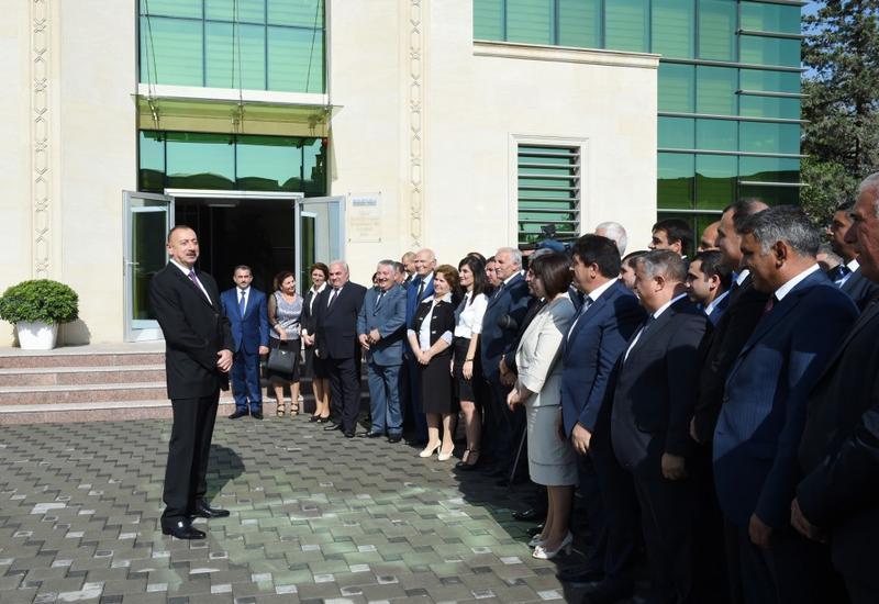 """Президент Ильхам Алиев: """"Граждане Азербайджана живут и должны жить в условиях безопасности и стабильности"""""""