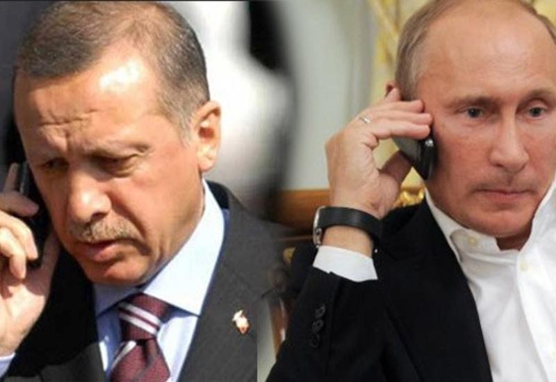 Путин не ответил на звонок Эрдогана