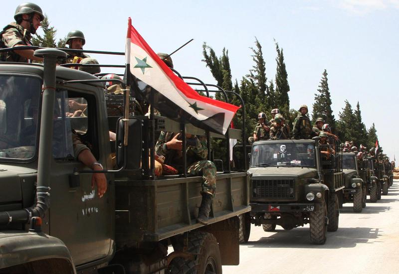 Армия Сирии освободила два населенных пункта