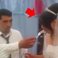 """Невесту ждут ужасные дни с этим женихом <span class=""""color_red"""">- ВИДЕО </span>"""
