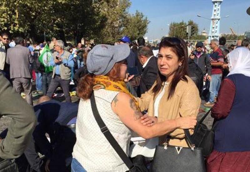 Выясняется наличие азербайджанцев при взрыве в Анкаре