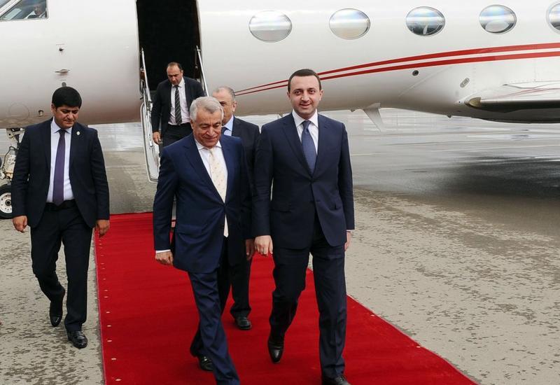 Гарибашвили прибыл в Азербайджан