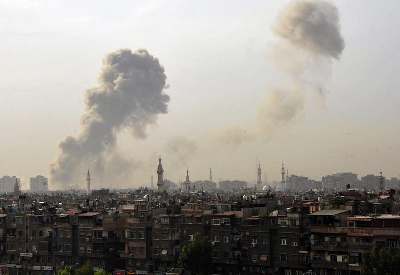 Сирийская армия вернула полный контроль над промзоной на востоке Дамаска
