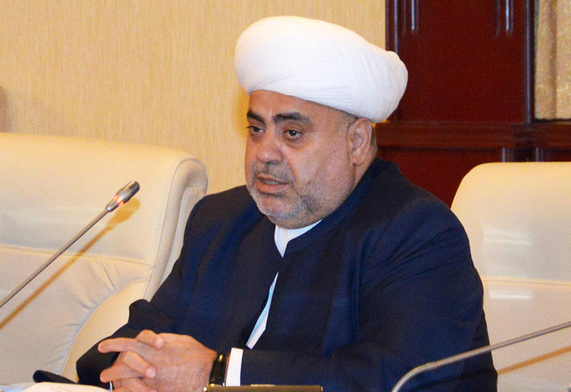Аллахшукюр Пашазаде: У нас нет религиозного конфликта