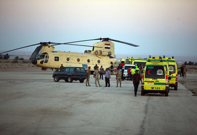 Российские спасатели будут работать на месте катастрофы на Синае