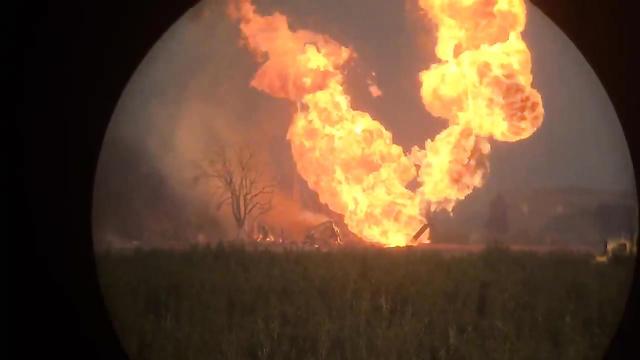 НаЛенинградке полыхает складской комплекс. Пожар склада вПодмосковье сегодня