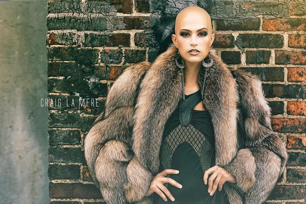 Модель, подобной которой в мире моды еще не было - ФОТО