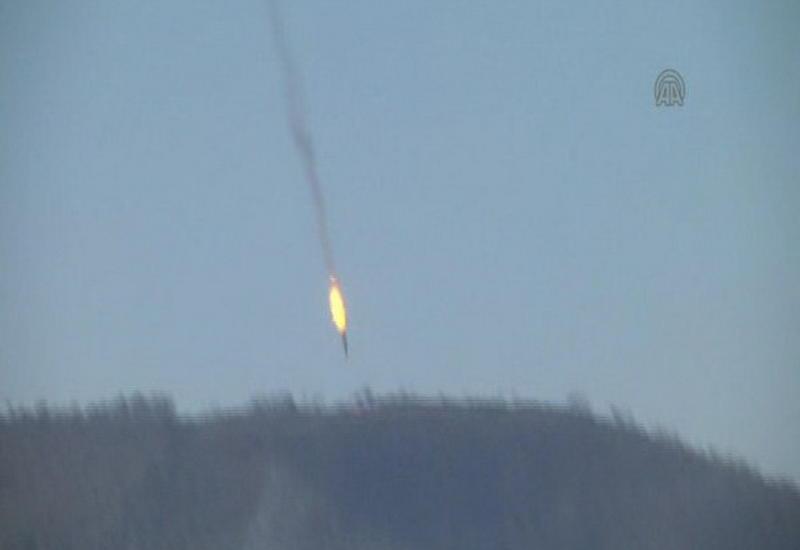 """Вот так был сбит российский самолет в Сирии <span class=""""color_red"""">- ВИДЕО</span>"""