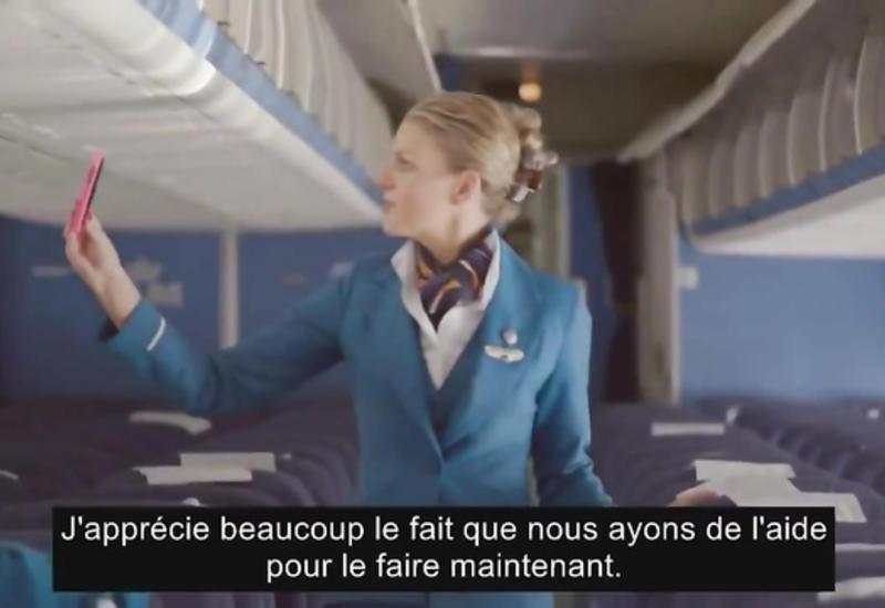 """В этом самолете невозможно потерять свои вещи <span class=""""color_red"""">- ВИДЕО</span>"""