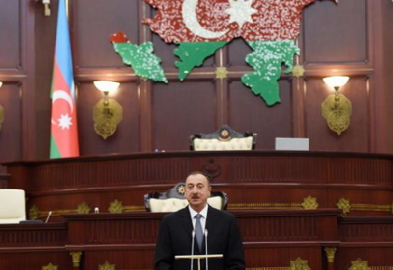 Президент Ильхам Алиев: Армения – искусственное государство, созданное на азербайджанской земле
