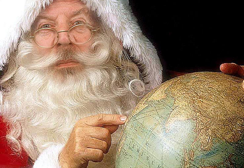 Санта-Клаус угнал вертолет в Бразилии