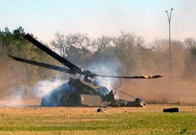 Крушение вертолета в Афганистане: 3 погибли, 18 в плену