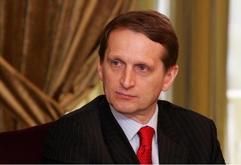 Нарышкин призвал найти и наказать виновных в уничтожении Су-24