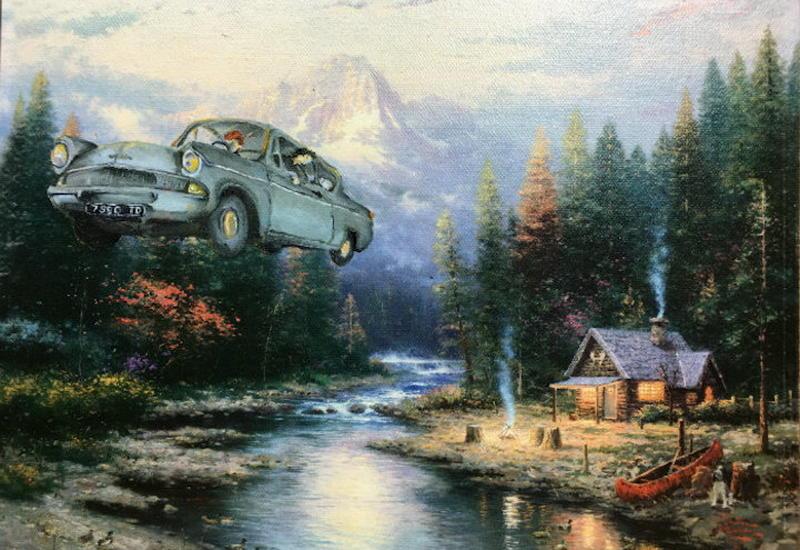 """""""Картинная галерея"""" Day.Az: Известные образы из кино в старых картинах <span class=""""color_red"""">- ФОТО</span>"""