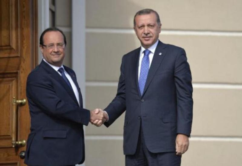 Олланд поддержал Эрдогана по инциденту со сбитым Су-24