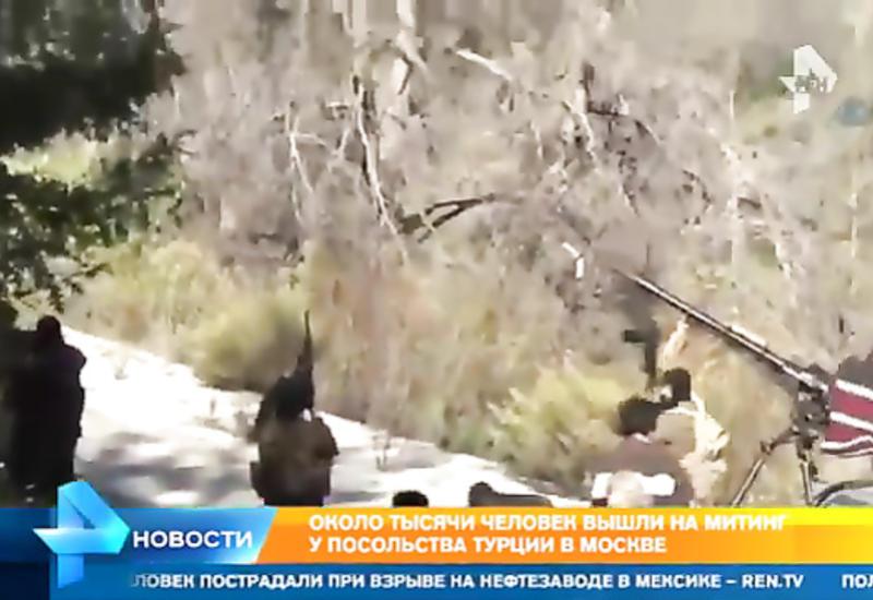 """Кадры спасения экипажа подбитого в Сирии вертолета Ми-8 <span class=""""color_red"""">- ВИДЕО</span>"""