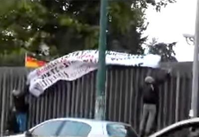"""Анархисты ворвались в резиденцию посла ФРГ <span class=""""color_red"""">- ВИДЕО</span>"""