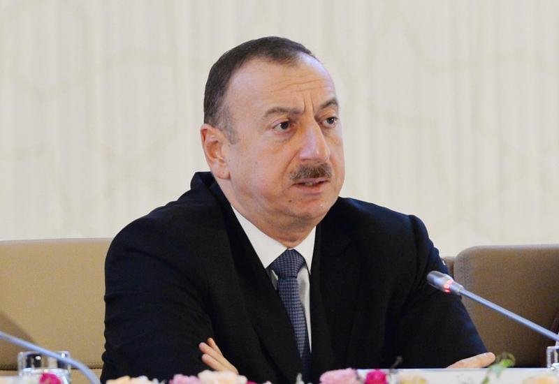 """Президент Ильхам Алиев: """"Терроризм не имеет ни национальности, ни религии"""""""