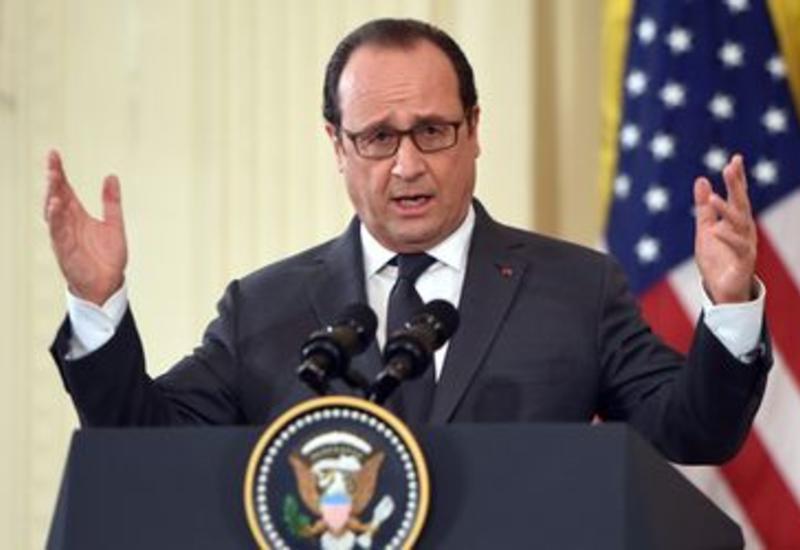 Олланд призвал РФ и Турцию не обострять ситуацию
