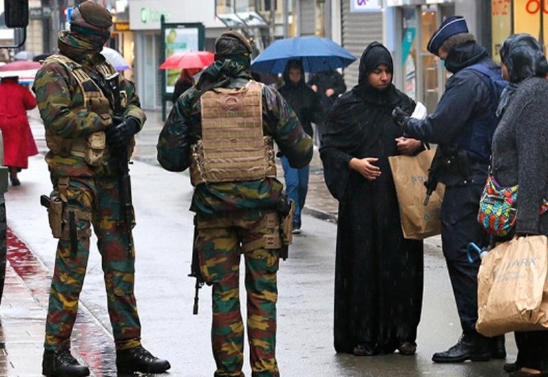 Антитеррористическая операция в Бельгии