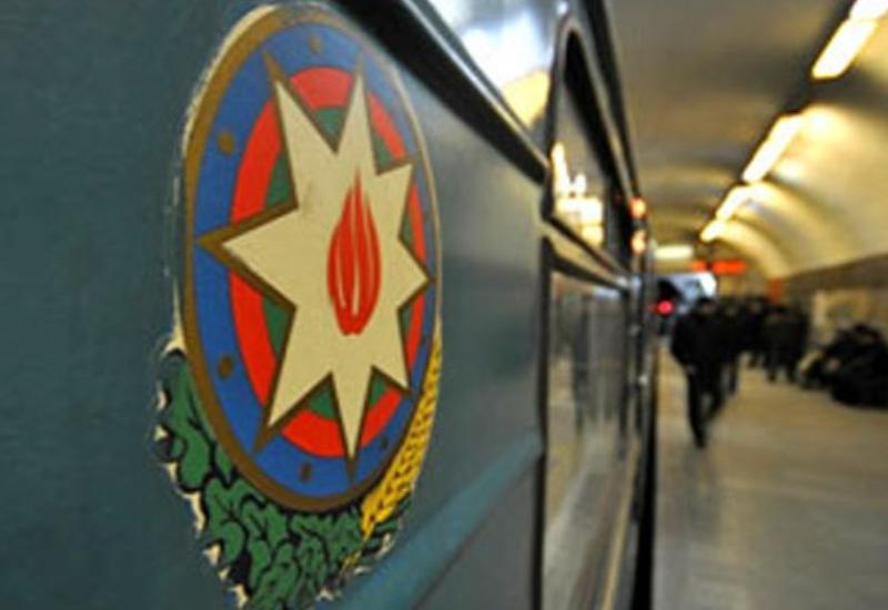 """Bakı metrosunda həyəcanlı anlar <span class=""""color_red"""">- YENİLƏNİB - VİDEO</span>"""