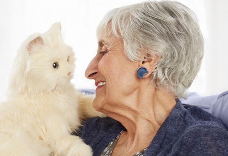"""Робот-кошка для престарелых на азербайджанском телеканале <span class=""""color_red"""">- ФОТО</span>"""