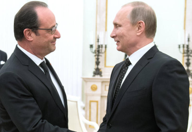 """Олланд: удары России и Франции по """"ИГ"""" будут скоординированы"""