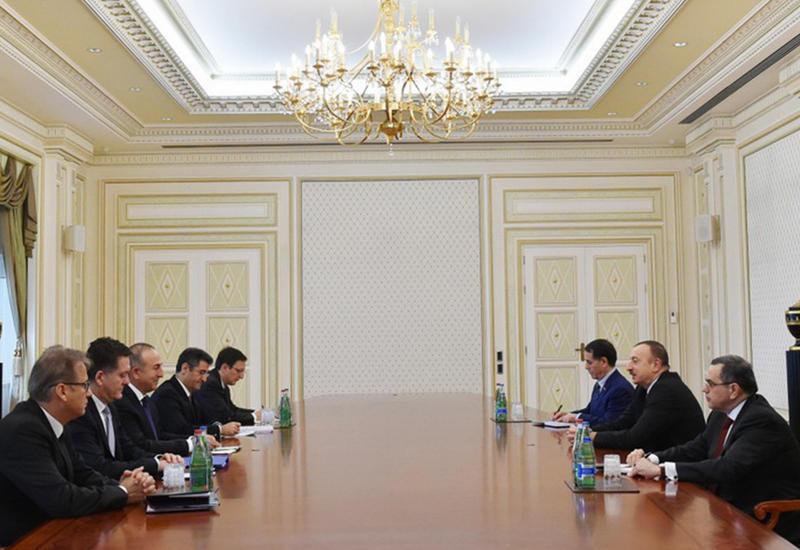 """Президент Ильхам Алиев: Азербайджан готов приложить усилия по устранению напряженности в турецко-российских отношениях <span class=""""color_red"""">- ФОТО</span>"""