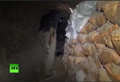 """В Ираке обнаружены подземные лабиринты """"ИГ"""" <span class=""""color_red"""">- ВИДЕО</span>"""