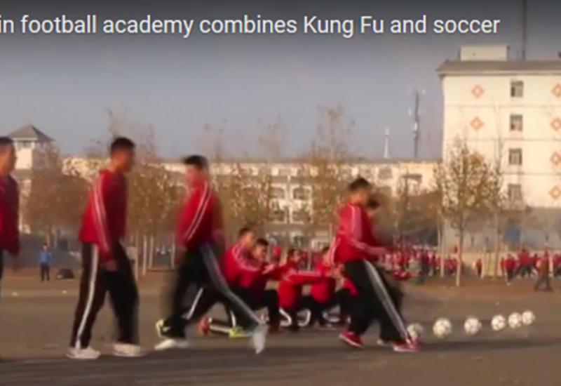 Что получится, если объединить футбол и кунг-фу