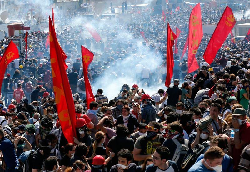 Новая волна протеста в Турции