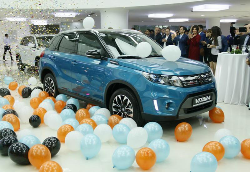 """Открытие нового центра компании """"Aztol Motors"""" и презентация новой модели SUZUKI Vitara <span class=""""color_red"""">- ФОТО</span>"""