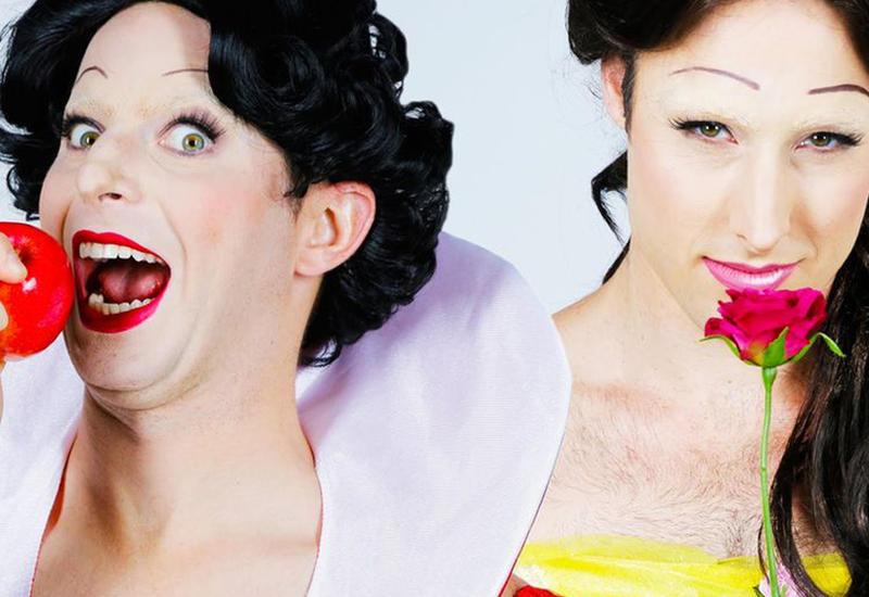 """Визажист превратила парней в прекрасных диснеевских принцесс <span class=""""color_red"""">- ФОТО</span>"""
