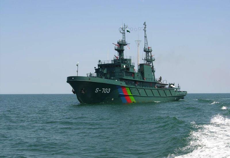 """Нардаран блокируют с моря <span class=""""color_red"""">- ФОТО</span>"""
